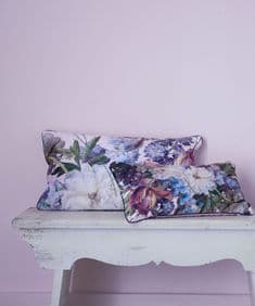 Supercamp Fleurs de Marie Antoinette cushion - Lilas